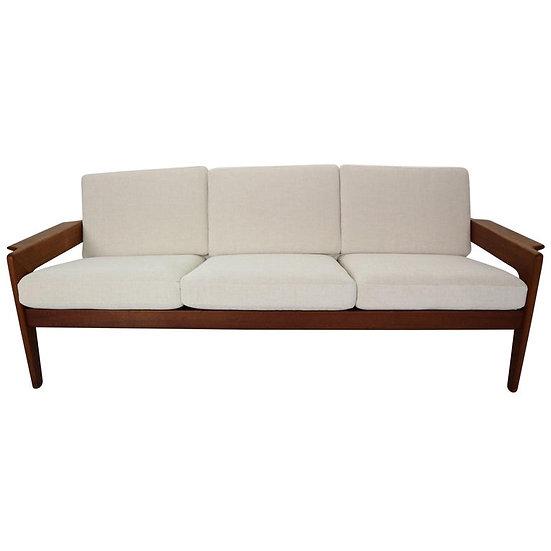 Three-Seat Lounge Sofa by Arne Wahl Iversen for Komfort, 1960s Denmark