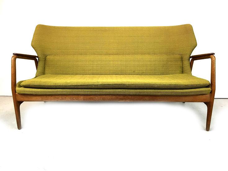 Original Wingback Sofa by Aksel Bender Madsen for Bovenkamp