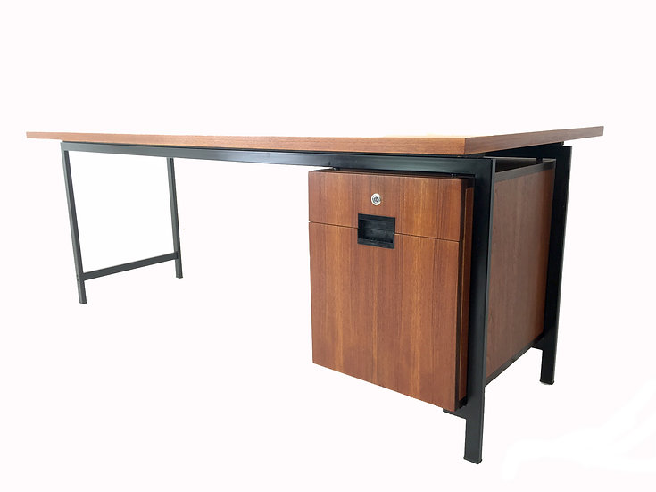 Dutch President Desk by Cees Braakman for Ums Pastoe, 1958