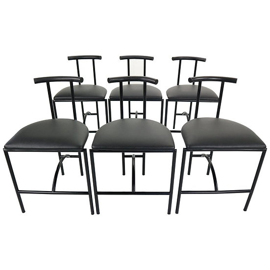 Set of 6 Bieffeplast 'Tokyo' Chairs by Rodney Kinsman, 1985s