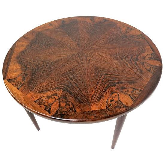 Rosewood Danish Design Coffee Table, 1970s