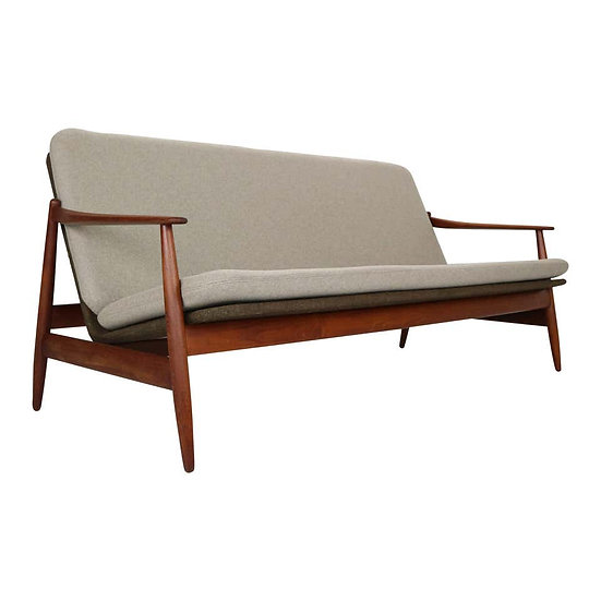 Danish Modern Teak Sofa by Poul M. Volther for Frem Rojle, 1960, Denmark