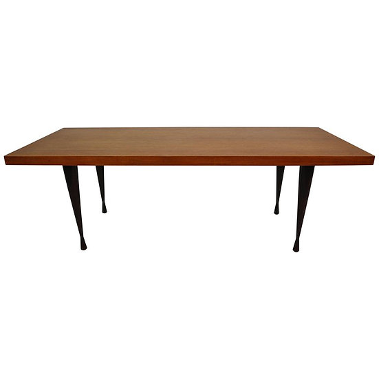 Mid century Danish coffee table teak 1970s