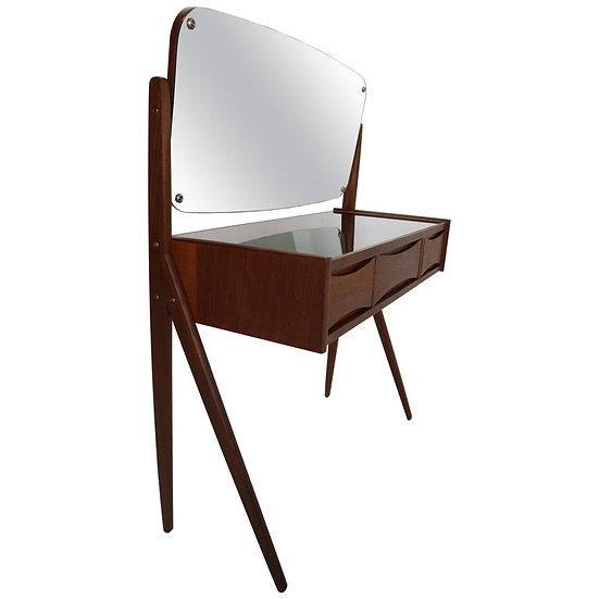 Midcentury Dressing, Make Up Table by Arne Vodder, 1950s, Denmark