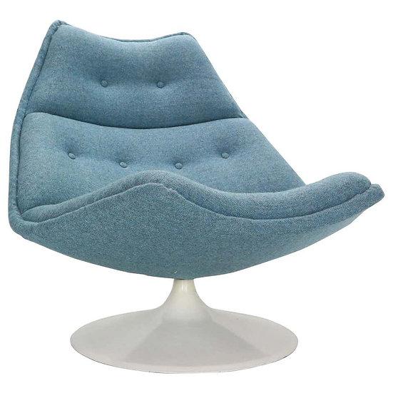 Geoffrey Harcourt Swivel Lounge Chair F511 For Artifort, 1960s, Netherlands