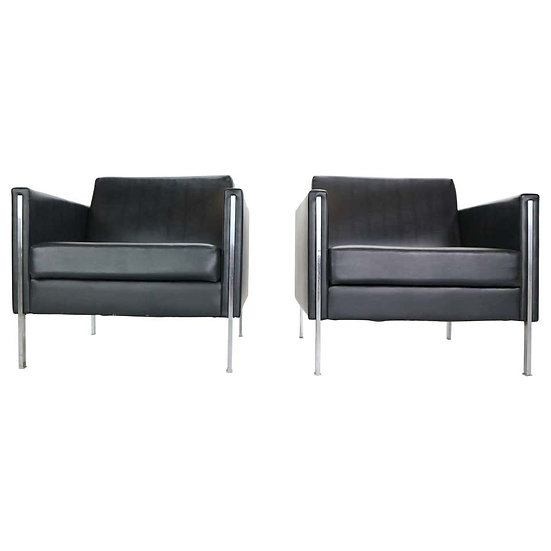 """Pierre Paulin Set of 2 """"442"""" Club Chairs for Artifort, 1960"""