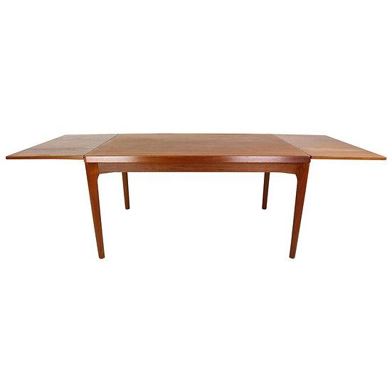 Danish Teak Dining Table by Henning Kaerjnulf for Vejle Stole