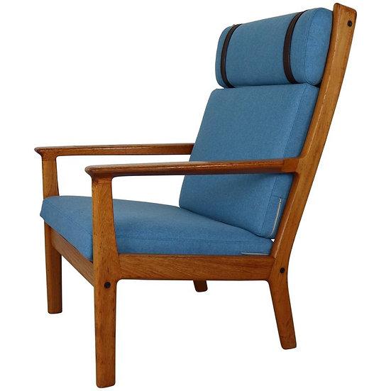 Luxury Hans Wegner GE-265 High Back Lounge Chair