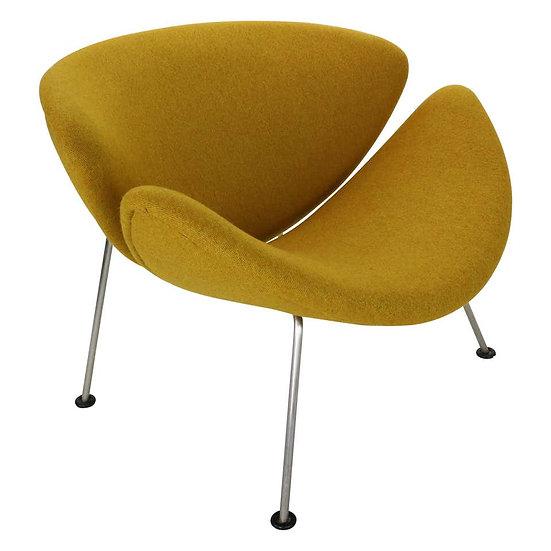 """Pierre Paulin 1st Edition for Artifort """"Orange Slice"""" Chair Dutch Design, 1960s"""