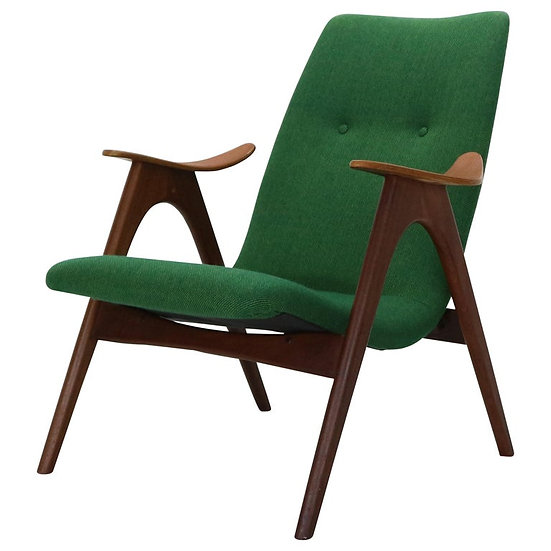 Mid-Century Modern Lounge Chair by Louis Van Teeffelen for Wébé, 1960s