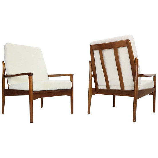 Fler Narvik Set of 2 Armchairs Designed by Fred Lowen, 1960s