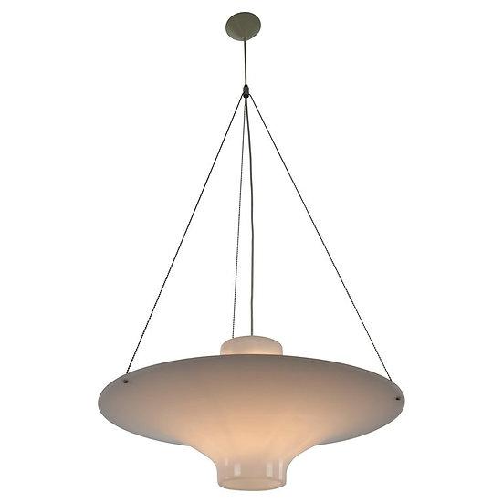Skyflyer- Lokki Hanging Lamp By Yki Nummi For Sanka, 1960S