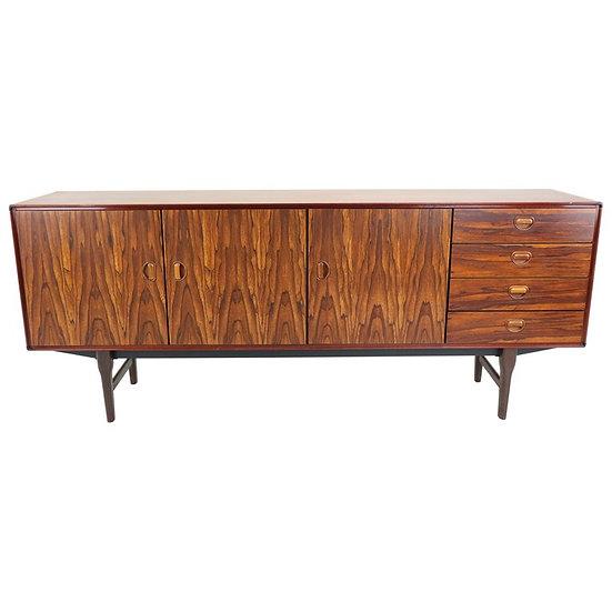 Rosewood Dutch Mid-Century Modern Sideboard by Fristho