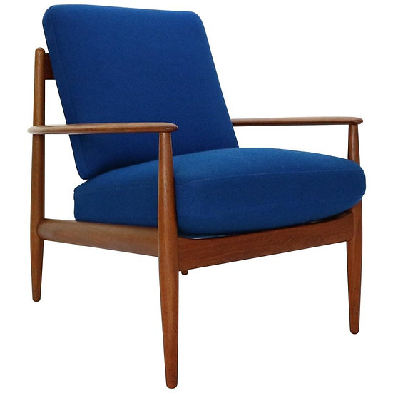 Midcentury Teak Lounge Chair by Grete Jalk for France and Son, 1960s