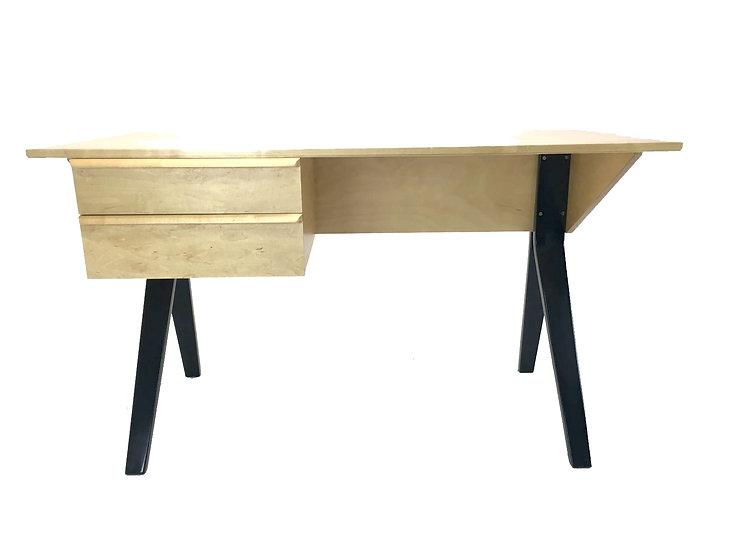 EB02 Birchwood Desk by Cees Braakman & Adriaan Dekker for Pastoe, 1952