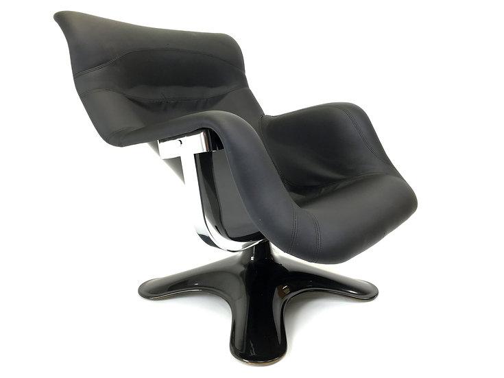 Finnish Karuselli Swivel Lounge Chair by Yrjo Kukkapuro for Haimi, 1964
