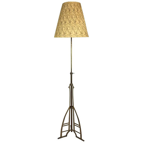 Mid '50s brass floor lamp