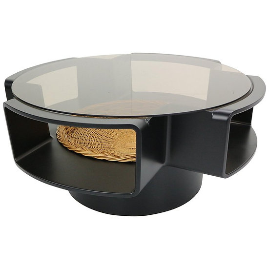 Space Age Ufo Coffee Table by Jean Maneval for Meubilier De France, 1960