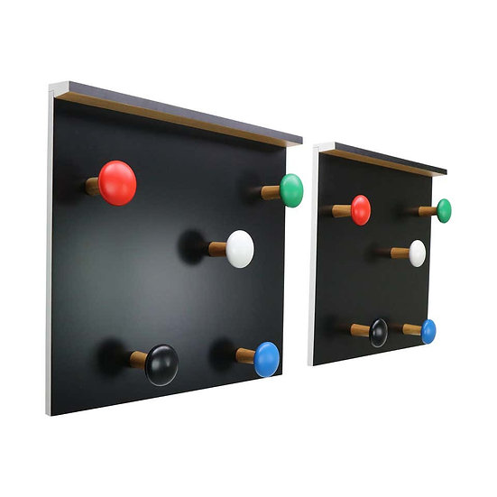 Set of 2 Coat Racks LC17 by Le Corbusier for Cassina, 2010, Italy