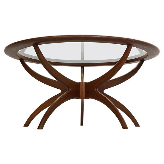 """G-Plan Teak """"Astro/Spider"""" Coffee Table by Victor Wilkins, 1960's England"""