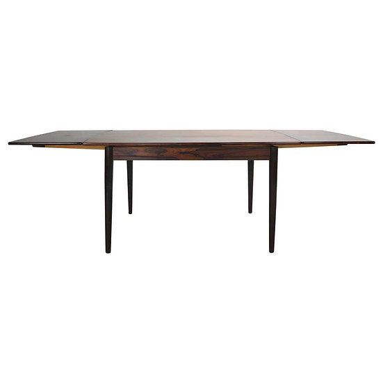Midcentury Danish Design Extendable Dining Table, 1960s