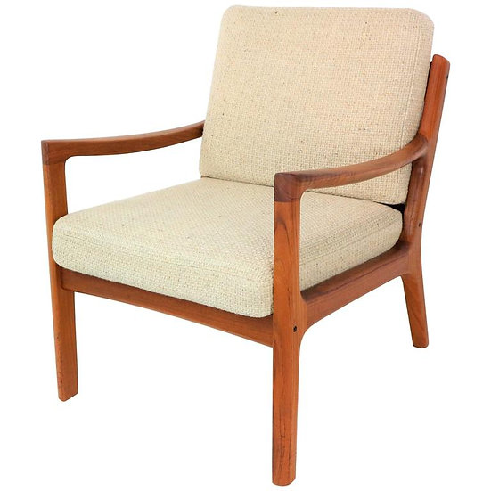 Senator Lounge Chair in Teak by Ole Wanscher