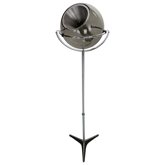 Frank Ligtelijn Adjustable Globe Floor Lamp for RAAK, 1960 Dutch Design