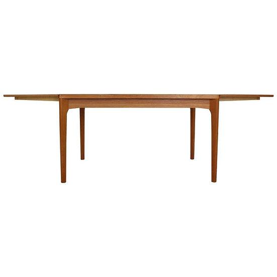 Extendable Dining Table by Henning Kaerjnulf for Vejle Stole Møbelfabrik, 1960
