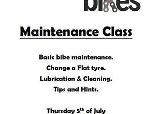 Maintenance Class!!