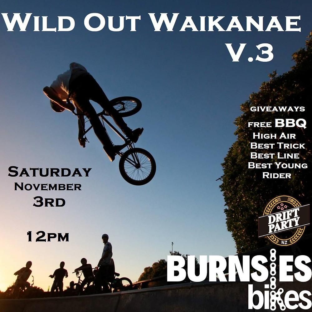 Wild Out Waikanae BMX Jam