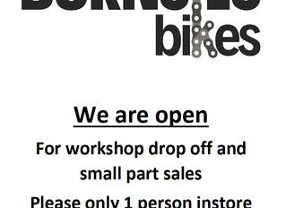 RE-OPEN: Workshop drop off & small parts