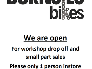 RE-OPEN: Workshop drop off & small parts