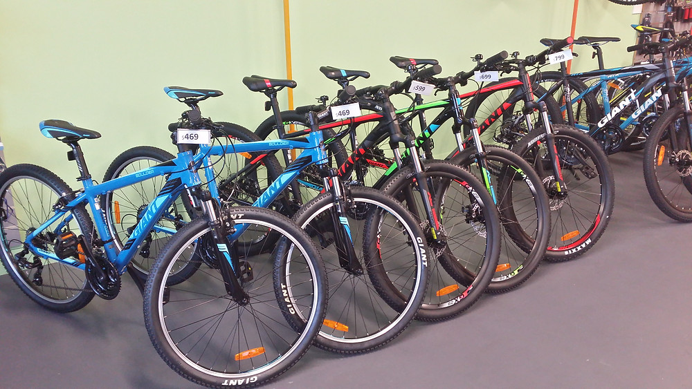 Giant Bikes 2018 NZ