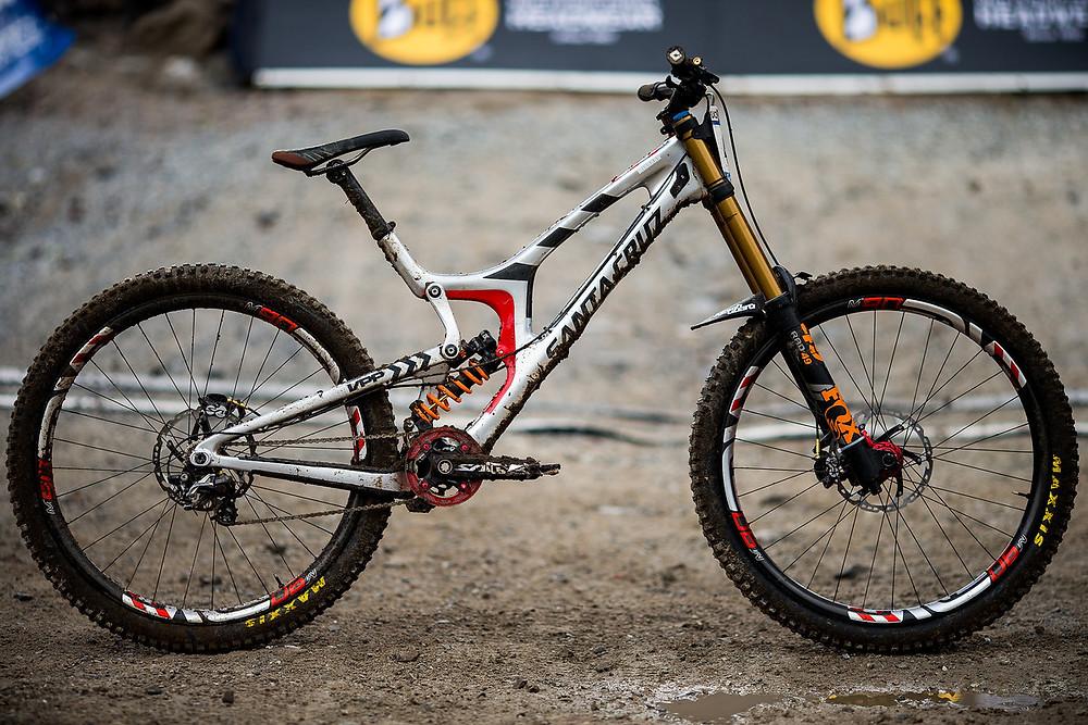 Winning Bike Greg Minnaar