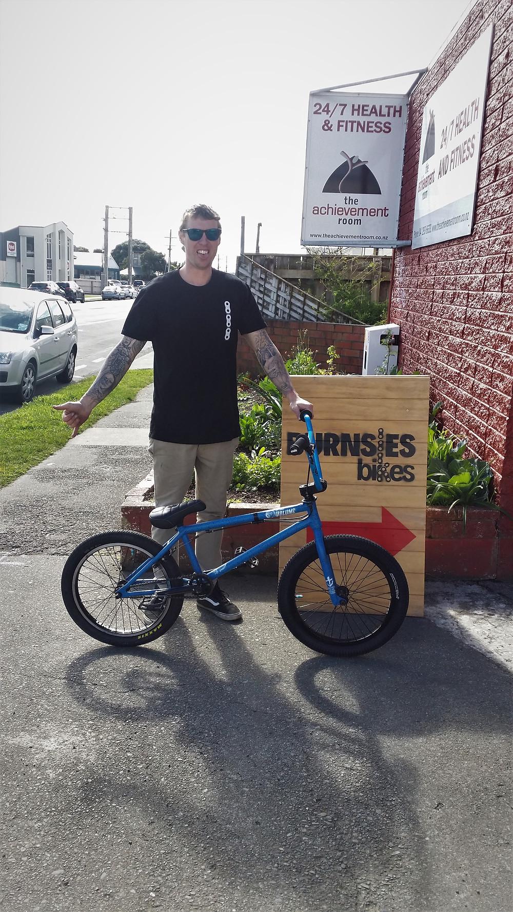 Volume Bikes, Kane O'Hagan
