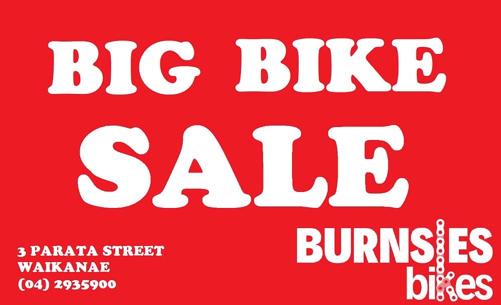 Burnsies Bikes Sale