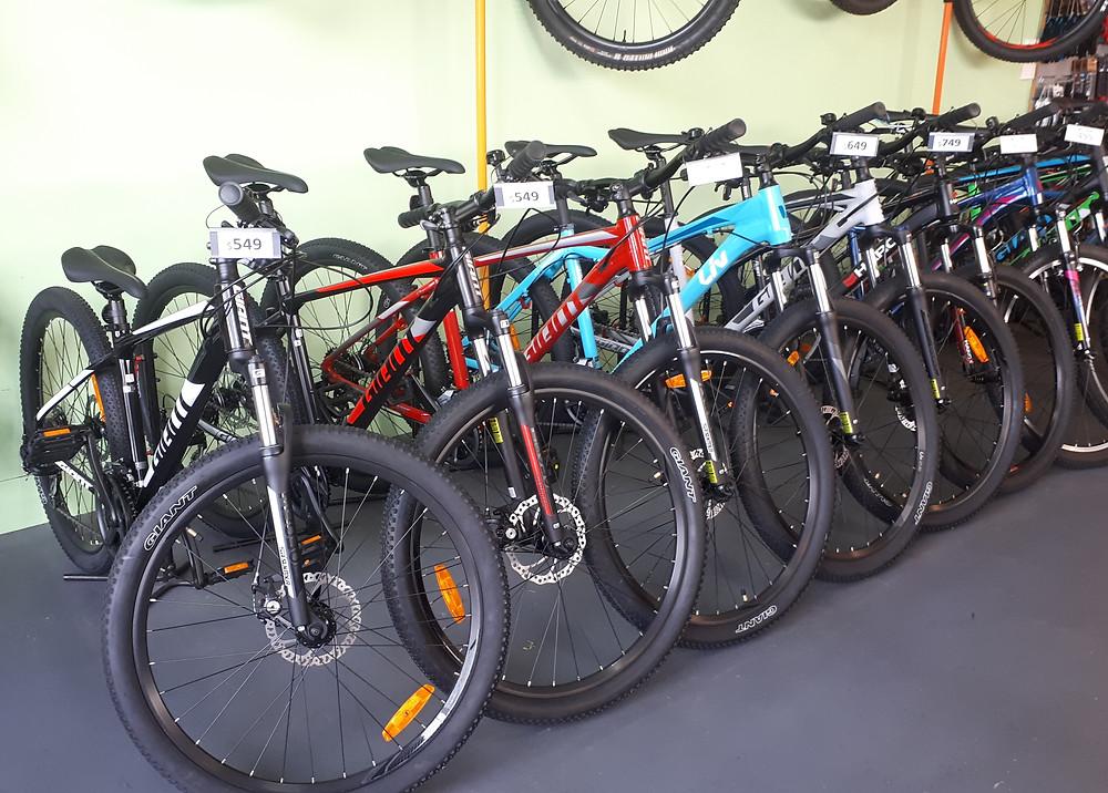 2020 Giant Bikes