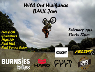 Only a few weeks away!! Wild Out Waikanae 2021
