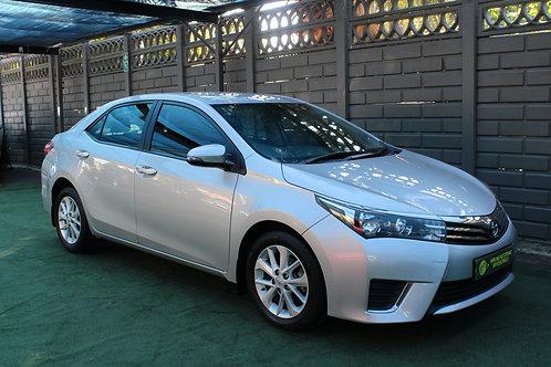 2015 Toyota Corolla 1.6 Prestige CVT