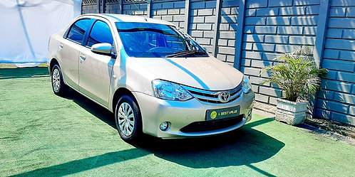 2014 Toyota Etios 1.5Xs Sedan