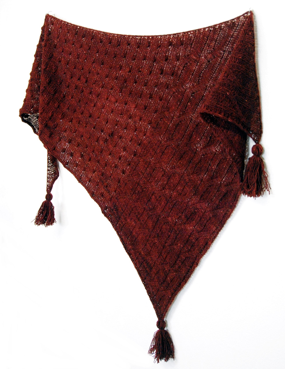 Ardisia :: shawl knitting pattern