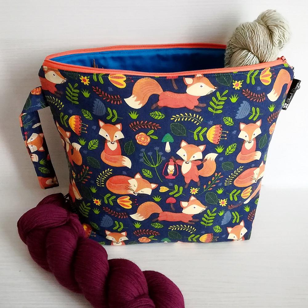 Chameli Designs Project Bag