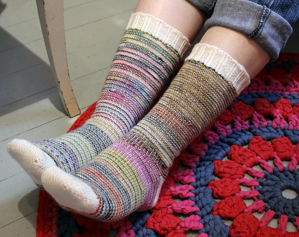 Helix stripes socks