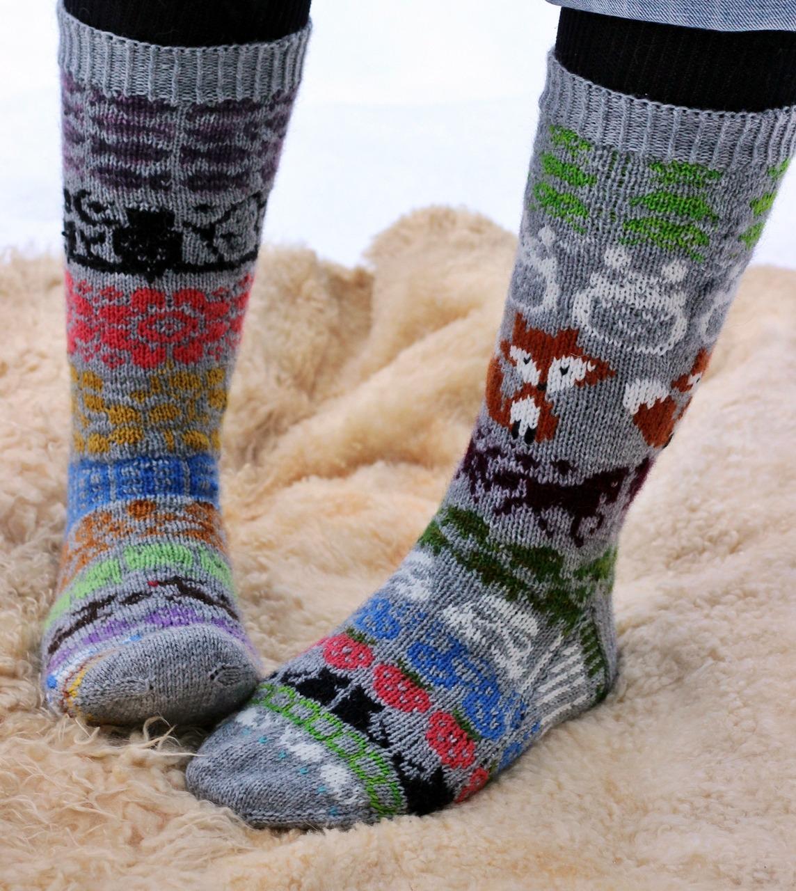 Advent Calendar Socks 2014
