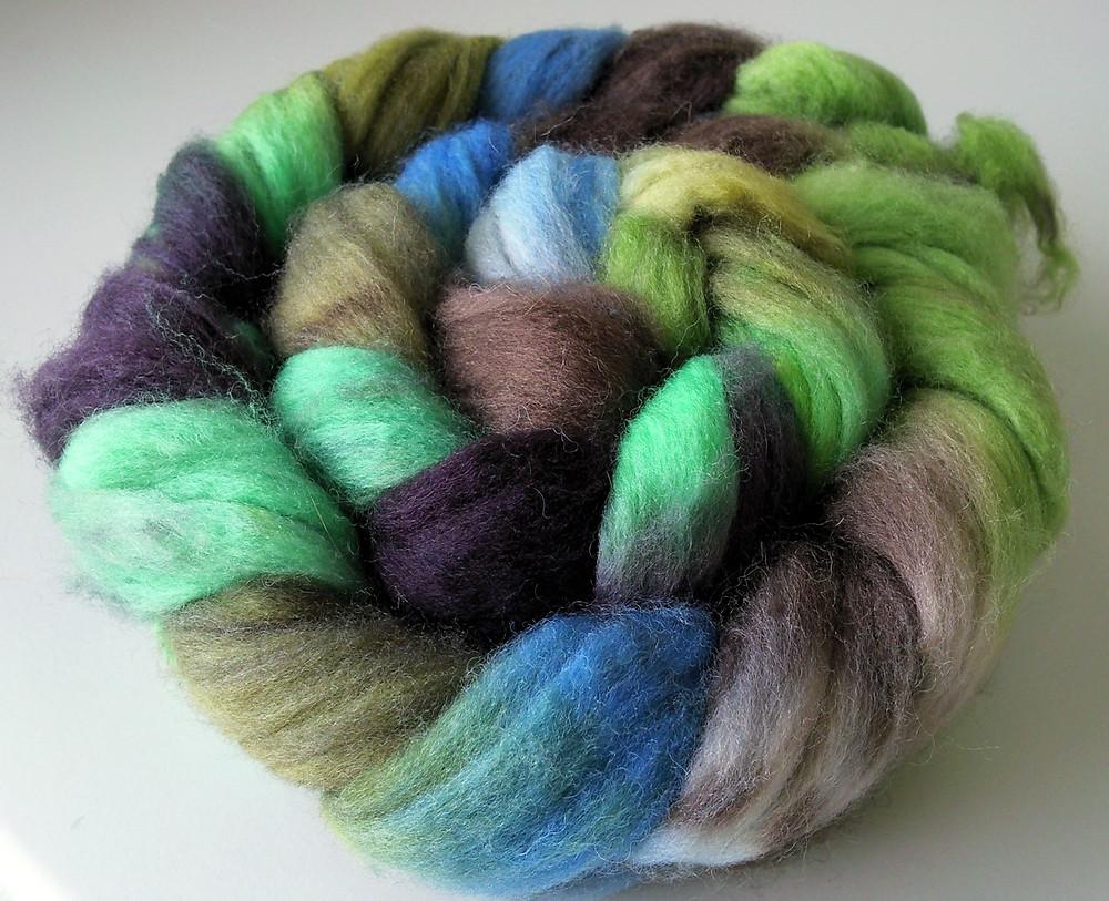 Elfenwolle Merino/Nylon Sock Blend in Willow and Hazel