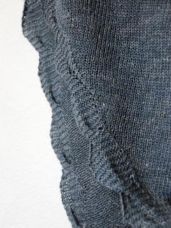 Soft River :: shawl knitting pattern