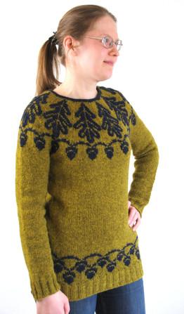 Terho :: colorwork sweater knitting pattern
