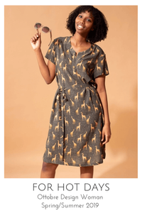 For Hot Days dress sewing pattern from Ottobre Design Woman Spring/Summer 2019