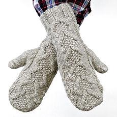 Hibernia Mittens :: mitten knitting pattern