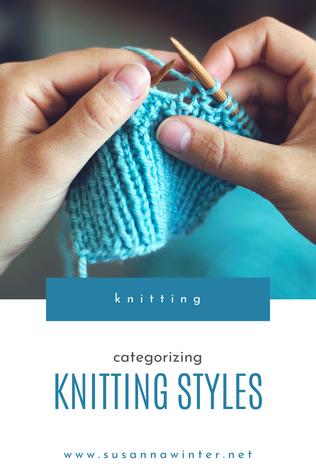 Categorizing Knitting Styles